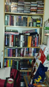 A Shelf containing some of my TBR